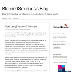 BlendedSolutions's Blog