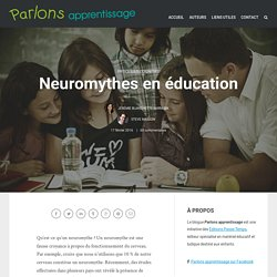 Neuromythes en éducation