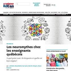 Les neuromythes chez les enseignants québécois