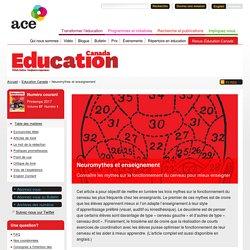 Neuromythes et enseignement