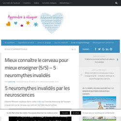 5 neuromythes invalidés par les neurosciences