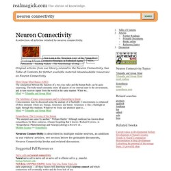 Neuron Connectivity