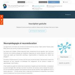 Neuropédagogie et neuroéducation