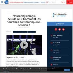 FUN - Neurophysiologie cellulaire 1: Comment les neurones communiquent - session 2