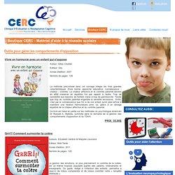 Boutique CERC - Matériel d'aide à la réussite scolaire