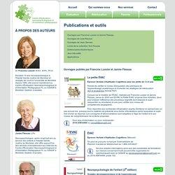 Publications, livres, actes, sur la neuropsychologie, EVAC, troubles d'apprentissage...