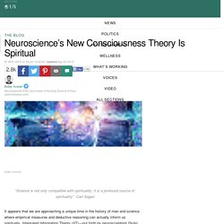 Neuroscience's New Consciousness Theory Is Spiritual | Bobby Azarian