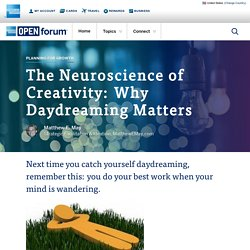 The Neuroscience of Creativity: Why Daydreaming Matters