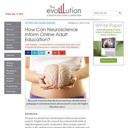 How Can Neuroscience Inform Online Adult Education?