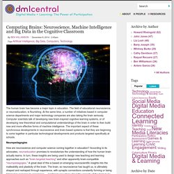 Computing Brains: Neuroscience, Machine Intelligence and Big Data in the Cognitive Classroom