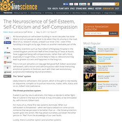 The Neuroscience of Self-Esteem, Self-Criticism and Self-Compassion