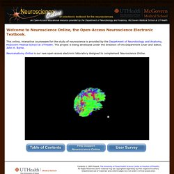 Neuroscience Online: An Electronic Textbook for the Neurosciences | Department of Neurobiology and Anatomy - The University of Texas Medical School at Houston