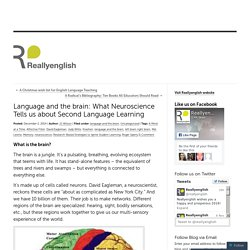 Language and the brain: What Neuroscience Tells us about Second Language Learning