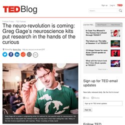 How DIY neuroscience kits put research in the hands of the curious