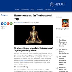 Neuroscience and the True Purpose of Yoga