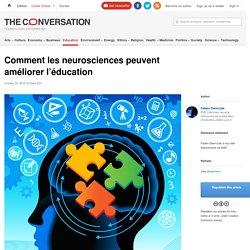 Comment les neurosciences peuvent améliorer l'éducation