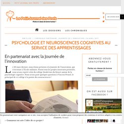 Psychologie et neurosciences cognitives au service des apprentissages