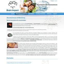 Neurosciences et Marketing - BrainImpact
