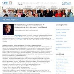 Neurosciences & Enneagramme
