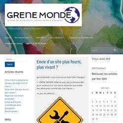 GRENE MONDE – Les neurosciences au service de l'éducation