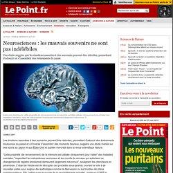 Neurosciences : les mauvais souvenirs ne sont pas indélébiles