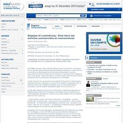 Belgique et Luxembourg : Eisai lance ses activites commerciales en neurosciences - Bourse secteur International d'EasyBourse - 10 Novembre 2014