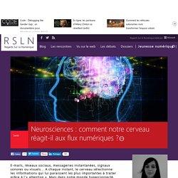 Neurosciences : comment notre cerveau réagit-il aux flux numériques ?