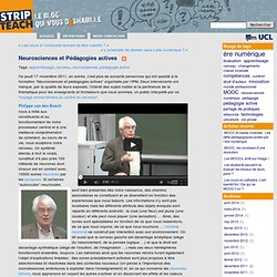 STRIP-TEACH » Blog Archive » Neurosciences et Pédagogies actives