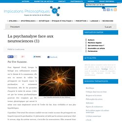 La psychanalyse face aux neurosciences (1