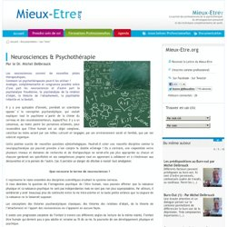 Neurosciences & Psychothérapie - Delbrouck Michel