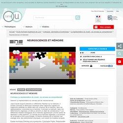 Neurosciences et mémoire - Ecole Normale Supérieure de Lyon