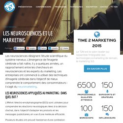 Neurosciences et marketing