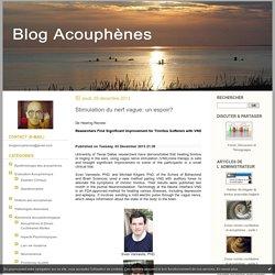 neurostimulation : Acouphènes