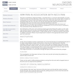 Arm Pain In Association With Neck Pain