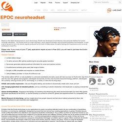 EPOC Neuroheadset