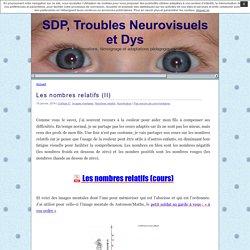 SDP, Troubles Neurovisuels et Dys » Mathématiques