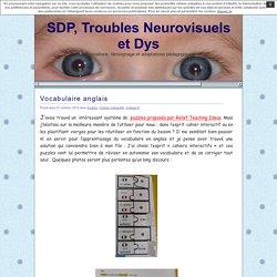 SDP, Troubles Neurovisuels et Dys » Vocabulaire anglais