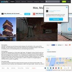 Neutelings Riedijk Architecten - Project - Mas, Museum aan de Stroom