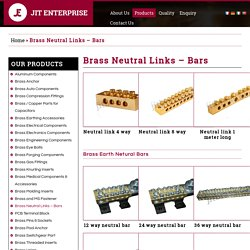 Brass Neutral Links - Jit Enterprise