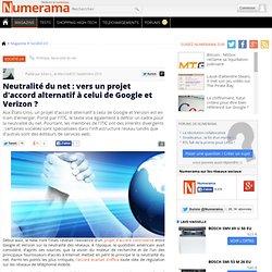 Neutralité du net : vers un projet d'accord alternatif à celui de Google et Verizon ? - Numerama