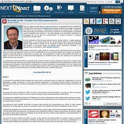Neutralité du Net : Christian Paul (PS) propose une loi