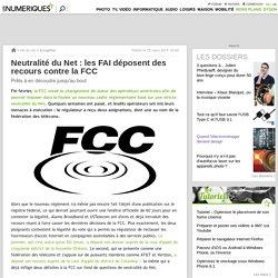 Neutralité du Net: les FAI déposent des recours contre la FCC