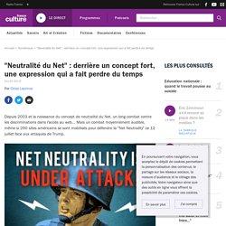 """""""Neutralité du Net"""" : derrière un concept fort, une expression qui a fait perdre du temps"""