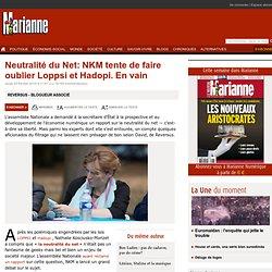 Neutralité du Net: NKM tente de faire oublier Loppsi et Hadopi.