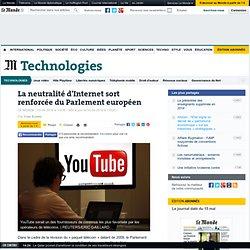 La neutralité d'Internet sort renforcée du Parlement européen