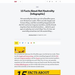 15 Facts About Net Neutrality [Infographic]