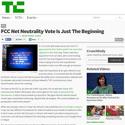 FCC Net Neutrality Vote Is Just The Beginning