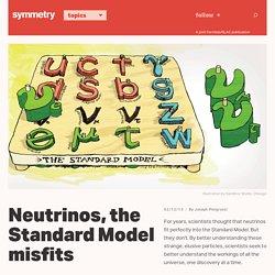 Neutrinos, the Standard Model misfits