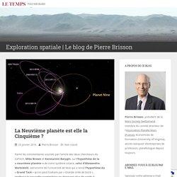 La Neuvième planète est elle la Cinquième? – Exploration spatiale