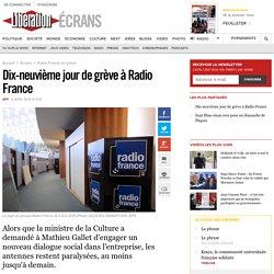 Dix-neuvième jour de grève à Radio France